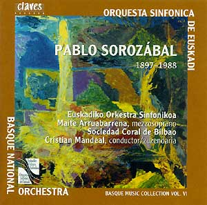 Basque Music Collection Vol.6 - Sorozabal