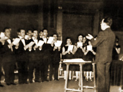 Perera and Coro Cantores de Madrid