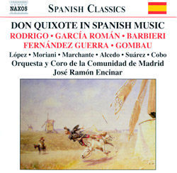 Don Quixote in Spanish Music - Naxos Spanish Classics