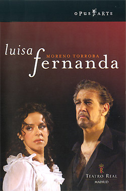 Nancy Herrera and Placido Domingo, Luisa Fernanda (Opus Arte)