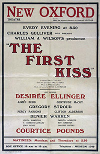 The First Kiss, poster (V&A Museum)