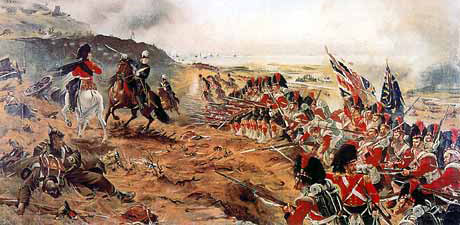 The 42nd Highland Regiment at the Battle of Alma (1854)