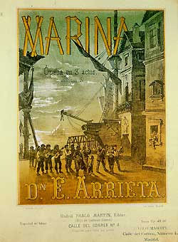 Marina 1871 Vocal Score