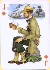 from a 'Jules Verne' pack of cards