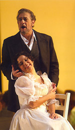 Nancy Herrera and Placido Domingo