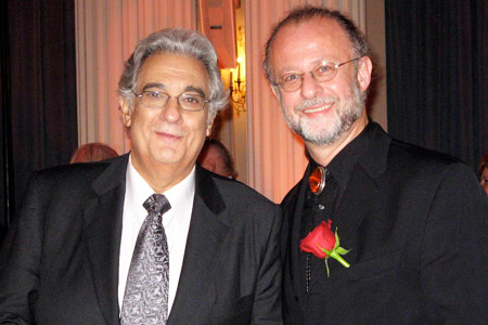 Placido Domingo and Pablo Zinger